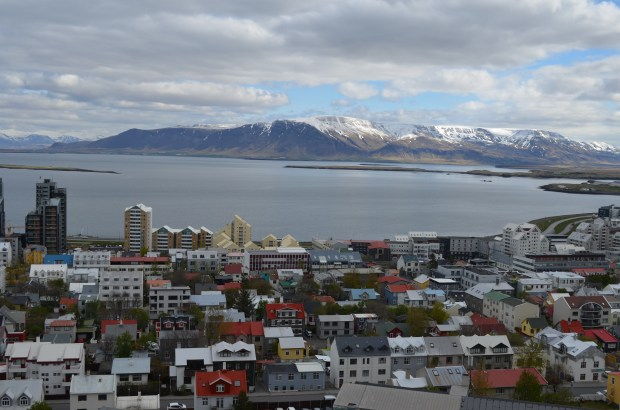 View of Reykjavik, Iceland, from the top of the Hallgrimskirkja Church in May 2016. (Andy Greder/Pioneer Press)