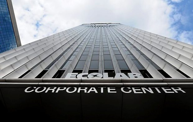 The former Ecolab headquarters building in downtown St. Paul. (Jean Pieri / Pioneer Press)