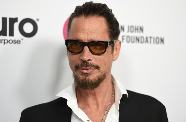 In this March 25, 2017 photo, Chris Cornell arrives at Elton John's 70th Birthday and 50-Year Songwriting Partnership with Bernie Taupin in Los Angeles. Cornell, 52, who gained fame as the lead singer of the bands Soundgarden and Audioslave, died at a hotel in Detroit and police said Thursday, May 18, 2017. (Photo by Jordan Strauss/Invision/AP)