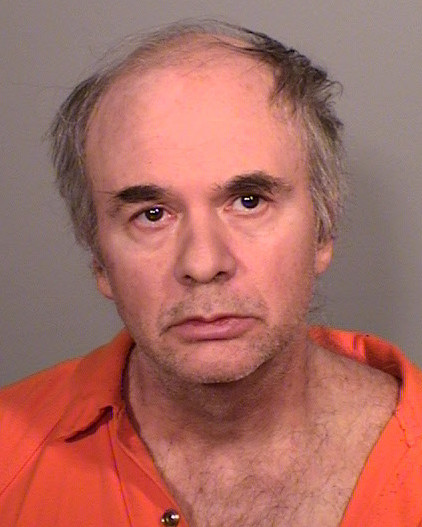 Christian A. Smalley, 56, of Oakdale, faces a felony assault charge for allegedly running over a woman Wednesday, May 24, 2017, in the parking lot of the University Avenue Target. (Courtesy of Ramsey County sheriff's office)