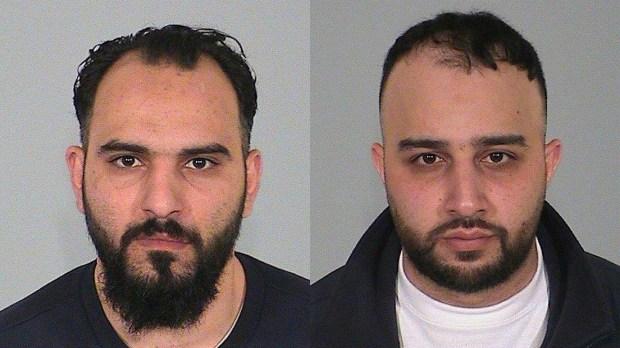 Mohammad Abdul Majid, left, and Iman Ugurlu