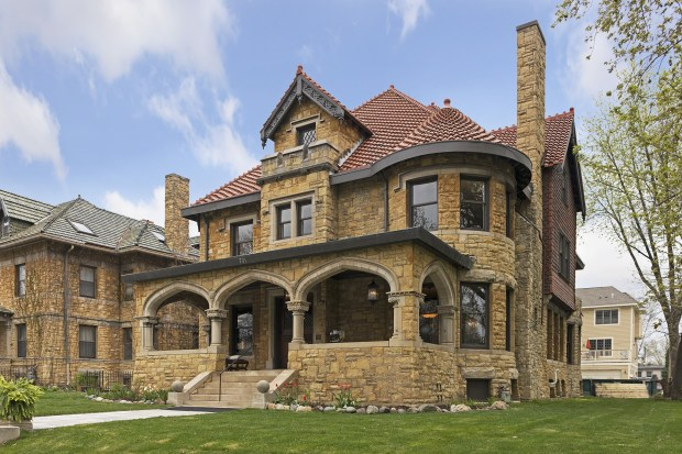 Designed by famed architect Clarence Johnston in 1898, the home at 701 Summit Ave. in St. Paul was has been renovated from top to bottom. Staging by Traditions Classic Home Furnishings. (Courtesy of Spara Realty)