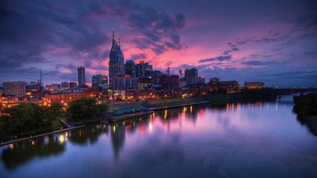 The Nashville skyline. (Courtesy of Nashville Convention & Visitors Corporation)