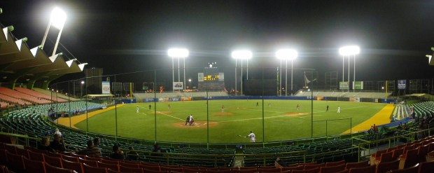 The Twins next season will become the fifth team in major league history to host games in Puerto Rico when they play the Cleveland Indians in a two-game series in San Juan's Hiram Bithorn municipal stadium on April 17-18. (Wikimedia Commons)