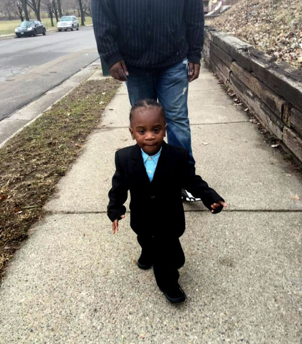 Tyrell Wooten, 3, was found dead in his St. Paul apartment on Sunday, June 25, 2017. His family said he went to bed normally the night before and never woke up. Police are investigating. (Courtesy of Tawanna Chizelle)