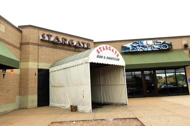 The Stargate Bar & Nightclub in Maplewood at the intersection of Larpenteur Avenue and Rice Street where three cities come together: St. Paul, Roseville and Maplewood, July 13, 2017. (Scott Takushi / Pioneer Press)