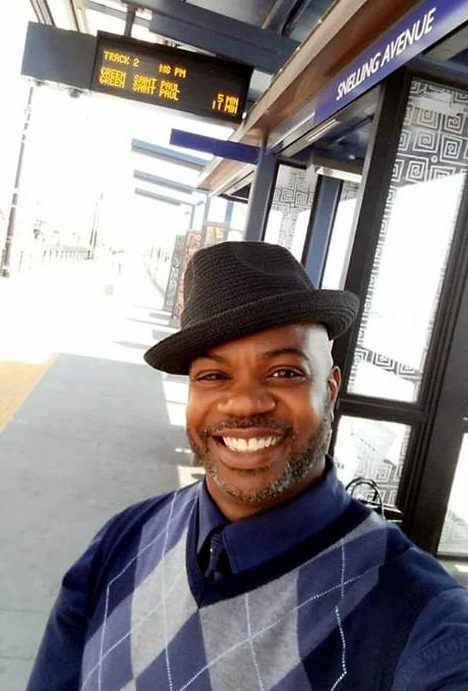 Kenneth J. Foster, 48, of St. Paul, was killed when a car drove into the Metro Transit bus he was passenger on Friday, July 21, 2017, in St. Paul. (Courtesy of Kenneth Foster family)