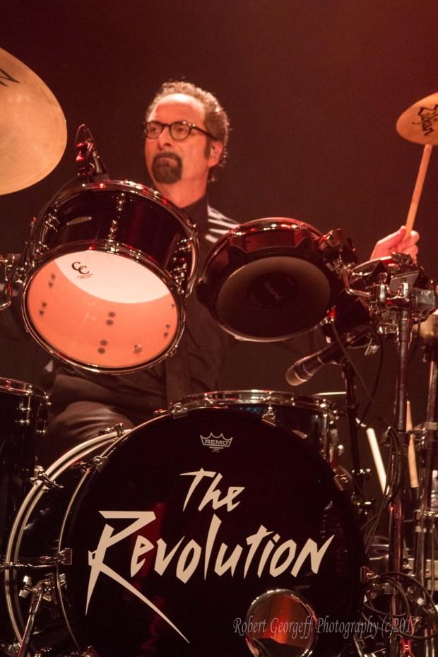 "The Revolution drummer Robert ""Bobby Z."" Rivkin. (Courtesy of Robert Georgeff)"