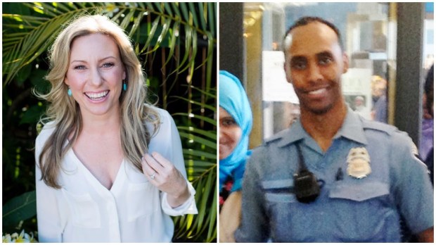 Justine Damond, left, and Mohamed Noor, (Courtesy of Stephen Govel/stephengovel.com, City of Minneapolis via AP)