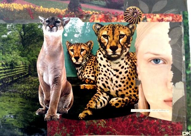 A collage by Deborah Keenan. (Courtesy of Deborah Keenan)