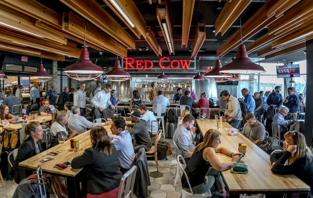 Red Cow at Minneapolis-St. Paul International Airport. (Metropolitan Airports Commission)
