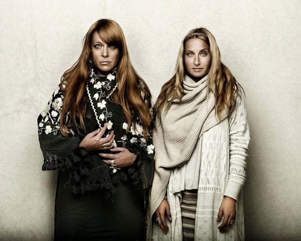 Kindred Folk designers Jen Chilstrom and Kimberly Jurek (Courtesy of Shelly Mosman)