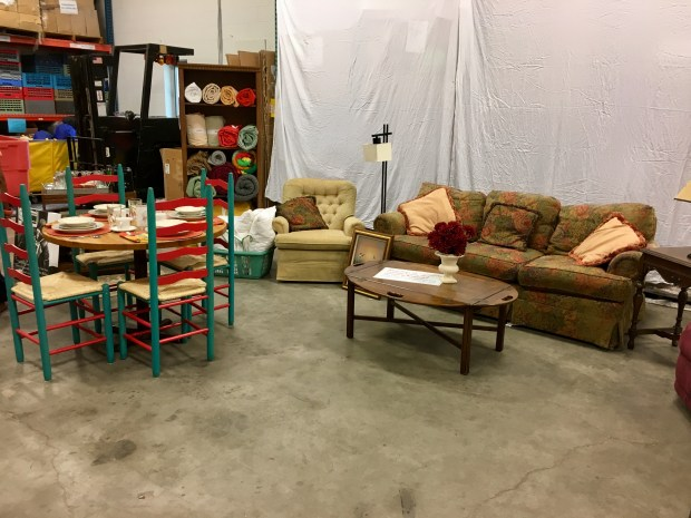 Bridging is a nonprofit which provides furniture for families transitioning out of homelessness or poverty. The average Bridging household receives 500 cubic feet ($1,800 value) of furnishings. (S. M. Chavey / Pioneer Press)