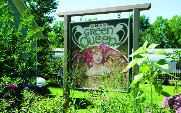 Green Queen off the main street on the right hand side as you get into Maiden Rock offers plenty of lawn and garden decor, gadgets and gifts. Friday, August 11, 2017. (Special to the Pioneer Press: Craig Lassig)