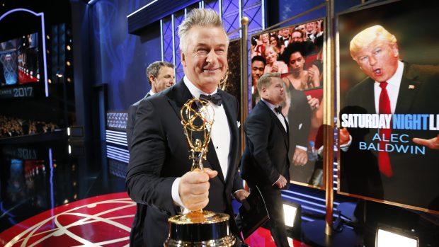 Alec Baldwin Emmy win for SNL