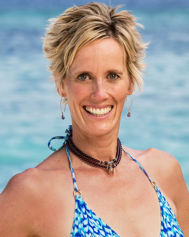 "Former Olympic swimmer Katrina Radke, a sports psychologist and college professor who lives in Excelsior, is competing on the current season of CBS' ""Survivor."" (Courtesy of CBS)"