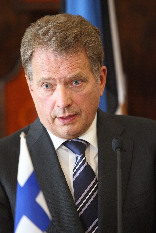 President of the Republic of Finland Sauli Niinistö. (Courtesy of Office of the President of the Republic of Finland)