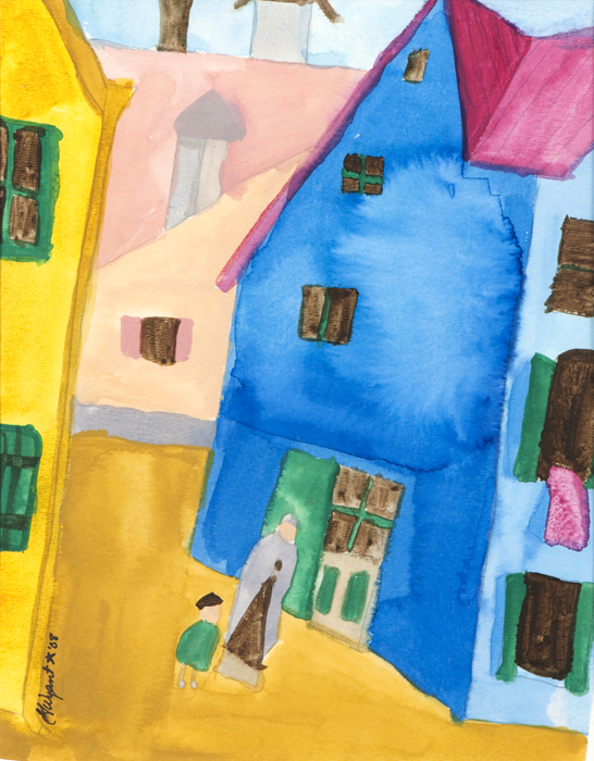 """""""Urban View"""" by Gayle Wyant (Courtesy of People Incorporate)"""