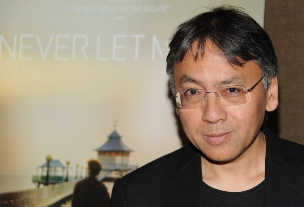 In this Tuesday, Sept. 14, 2010 file photo, author Kazuo Ishiguro attends a special screening of 'Never Let Me Go' in New York. The Nobel Prize for Literature for 2017 has been awarded to British novelist Kazuo Ishiguro, it was announced on Thursday, Oct. 5, 2017. (AP Photo/Evan Agostini)