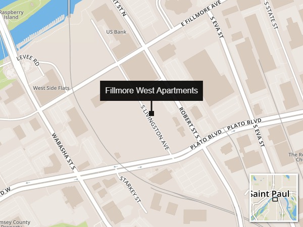 Proposed site of the Fillmore West Apartments.
