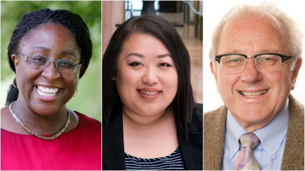 Jeanelle Foster, Marny Xiong and John Brodrick (Courtesy photos)