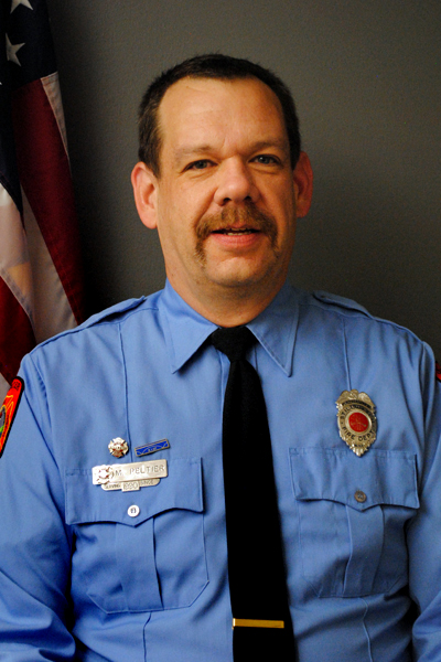 Undated courtesy photo of Mike Peltier, who worked for the Stillwater Fire Department for 27 years. Peltier died Tuesday, Oct. 10, 2017, at a nursing home in Stillwater from complications related to stomach and brain cancer. He was 50. (Courtesy of the Stillwater Fire Department)