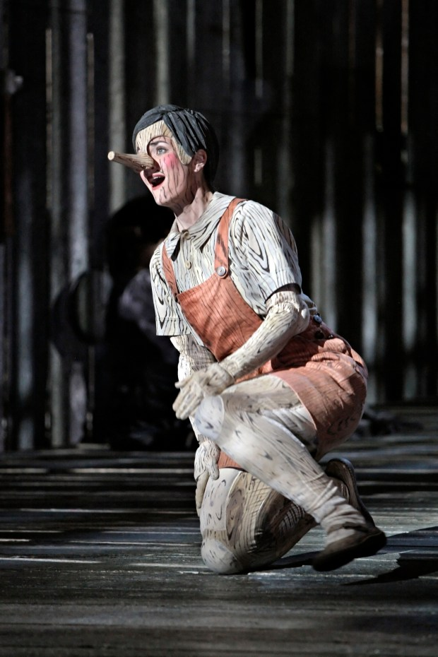 "Adriana Zabala as Pinocchio in the 2009 Minnesota Opera production of ""The Adventures of Pinocchio."""