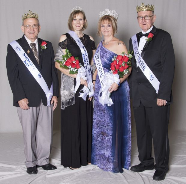 Lynn Craig of Maplewood (wearing the black gown) was named the 2016 International Queen Runner-up of TOPS (Take Off Pounds Sensibly) at the organization's recognition event in Arkansas last summer. (Courtesy of TOPS)