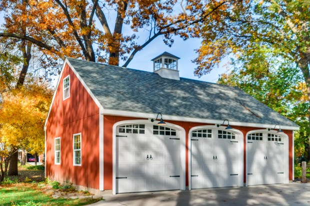 The garage at the Cleveland Avenue house in St. Paul. (Shanna Allyn / Virtuance)