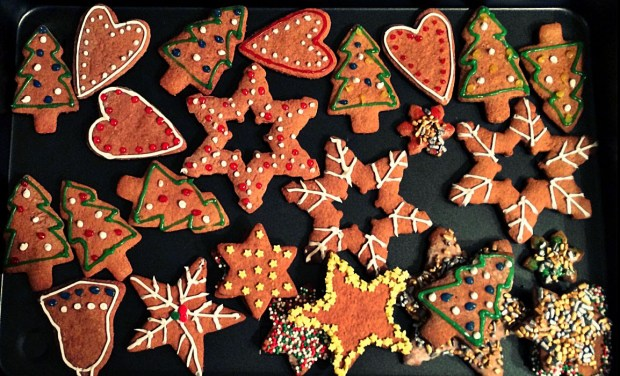 Gingerbread Cookies (Courtesy Olga Pikula)