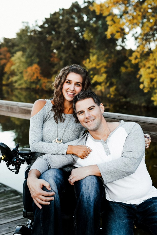 Tasha Schuh and her husband, Doug Michaels (Courtesy of Tasha Schuh)
