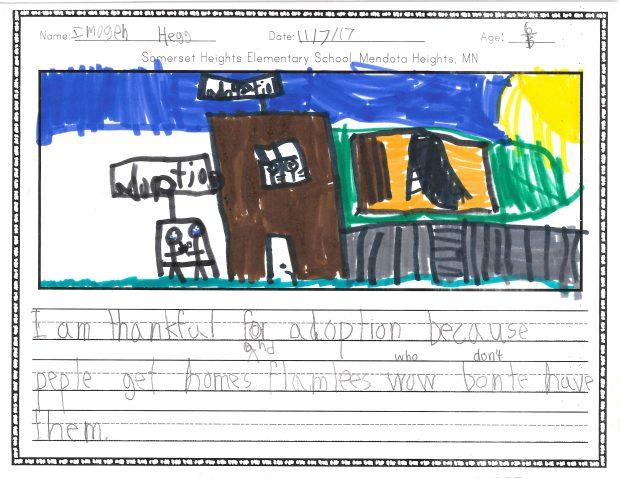 Imogen, Somerset Heights Elementary School, Mendota Heights