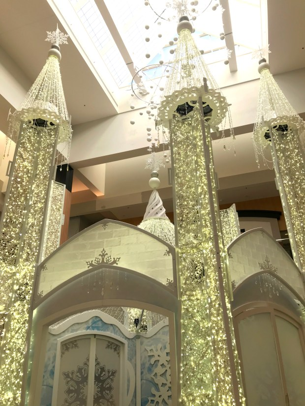 rosedale center takes on a winter castle for the holidays