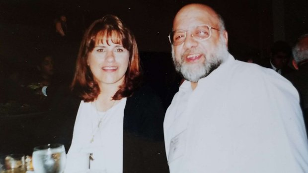 An undated photograph shows Jerry Webbe, right, with his wife, Londa. (Courtesy of Brian Carpenter)