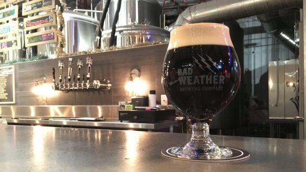 Coffee Ominous from Bad Weather Brewing. (Jess Fleming / Pioneer Press)