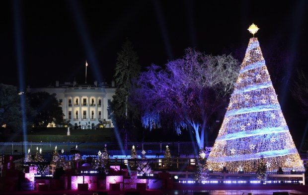 the national christmas tree lightening ceremony on nov 30 2017 in washington dc - Christmas In Washington