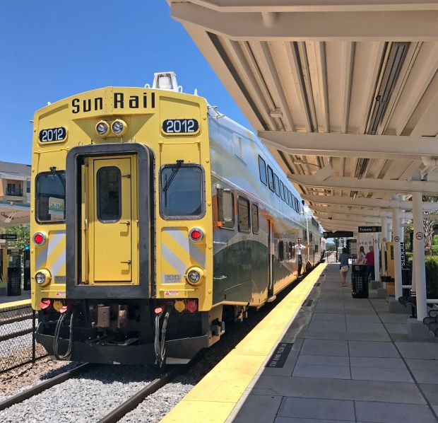 SunRail is a commuter train that runs north from Orlando, but outside of peak commute hours, a ride through Central Florida's small towns is a pleasant diversion from the theme parks. (Marjie Lambert/Miami Herald/TNS)