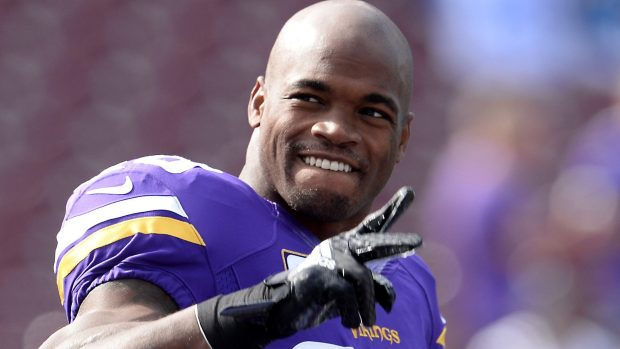 Adrian Peterson will be at Mall of America.