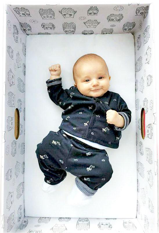 (Courtesy of Baby Box Company)