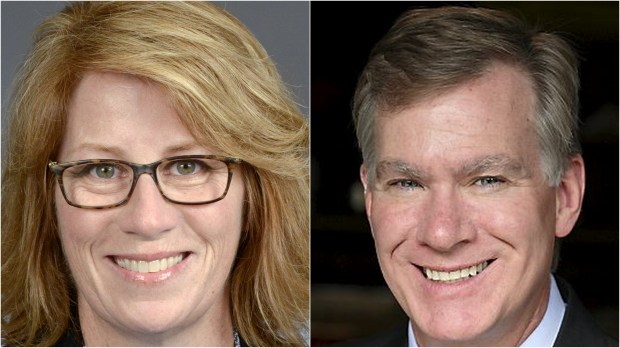Rep. Erin Murphy and former St. Paul Mayor Chris Coleman, DFL candidates for Minnesota governor (Courtesy photos)