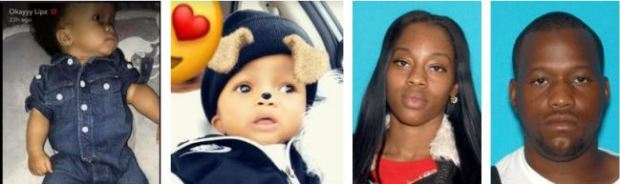 Anoka County Sheriff's Department is searching for 10-month-old Ja-Kari Brown and his parents, Sharona Nena Jefferson and James Lavell Brown.