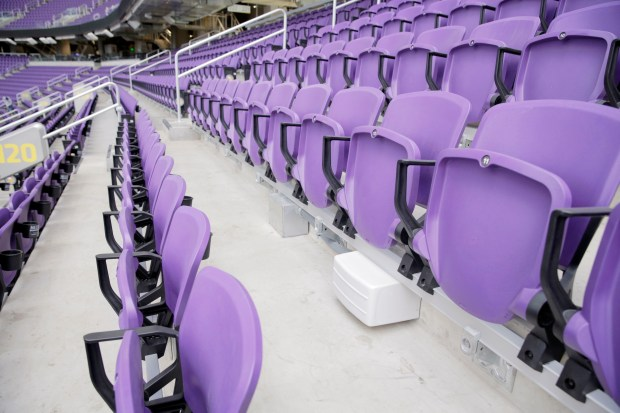 Verizon Wireless has beefed up its cellular capabilities at U.S. Bank Stadium. This includes antennas under some seats. (Verizon Wireless)