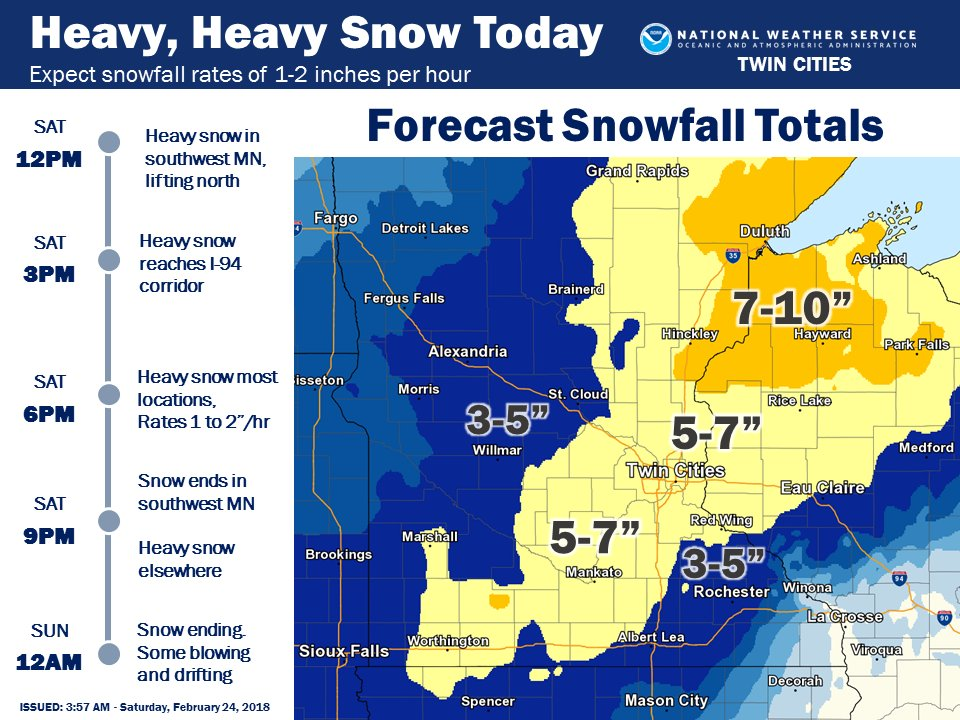 School delays Friday, a winter storm expected Saturday