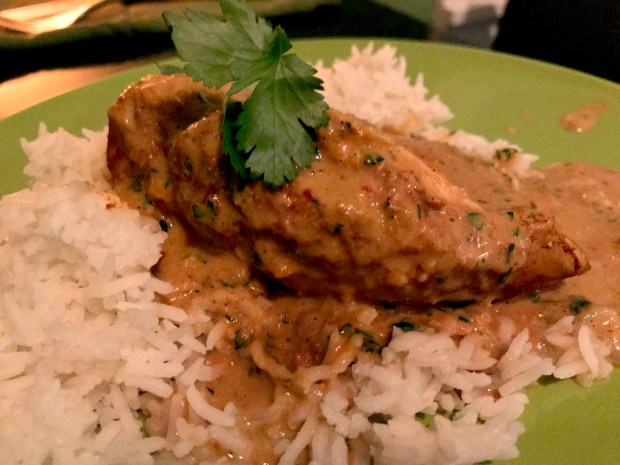 Indian Butter Chicken. Photographed Jan. 27, 2018. (Nancy Ngo / Pioneer Press)