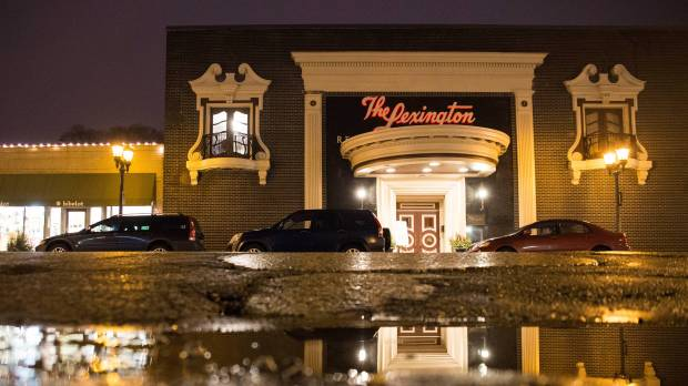 The exterior of The Lexington in St. Paul, as seen during a private event that the restaurant hosted on Saturday evening, Jan. 21, 2017. (Special to the Pioneer Press: Liam James Doyle)