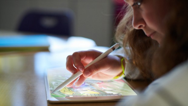 Apple on Tuesday, March 27, 2018, announced a new entry-level iPad tablet that for the first time works with the company's Pencil stylus. (Apple)