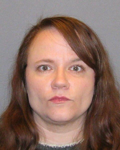 Krista Ann Muccio, 44, of Inver Grove Heights, in a May 4, 2015, booking photo at Dakota County Jail in Hastings. On March 8, 2018, Muccio pleaded guilty in Dakota County District Court to one felony count of communication with a minor describing sexual conduct. (Courtesy of Dakota County sheriff's office)