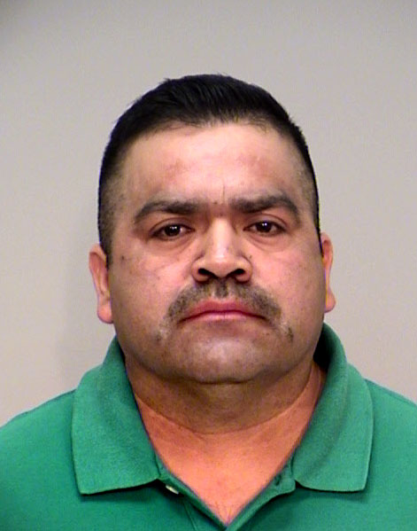 Conrrado Cruz Perez, 47, (DOB 02/19/1971) of Minneapolis was charged in December 2017 with two counts of adulterating a substance with bodily fluids. He is accused of urinating in his coworker's water bottle after she refused his romantic advances. (Courtesy of the Ramsey County Sheriff's Office)