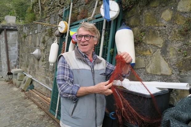 At Terra di Bargon in Cinque Terra, owner Robert Bonfiglio makes Sciacchetra, the region's rare honey-sweet wine. (Liza Weisstuch/TNS)