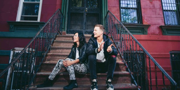 Dance-punk duo Matt and Kim